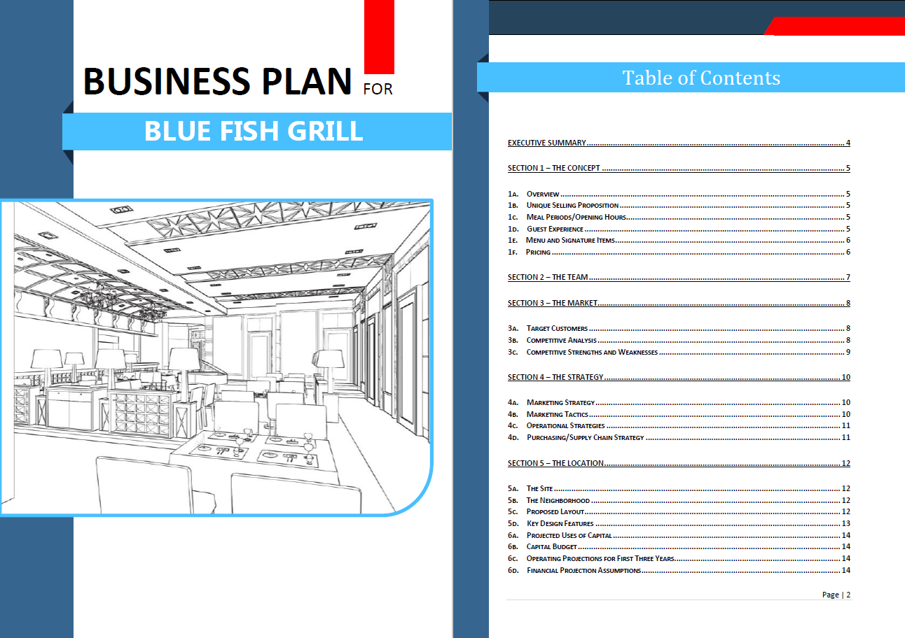 New restaurant business plan template graphics enhanced version download the new restaurant business plan template graphics enhanced version flashek Image collections