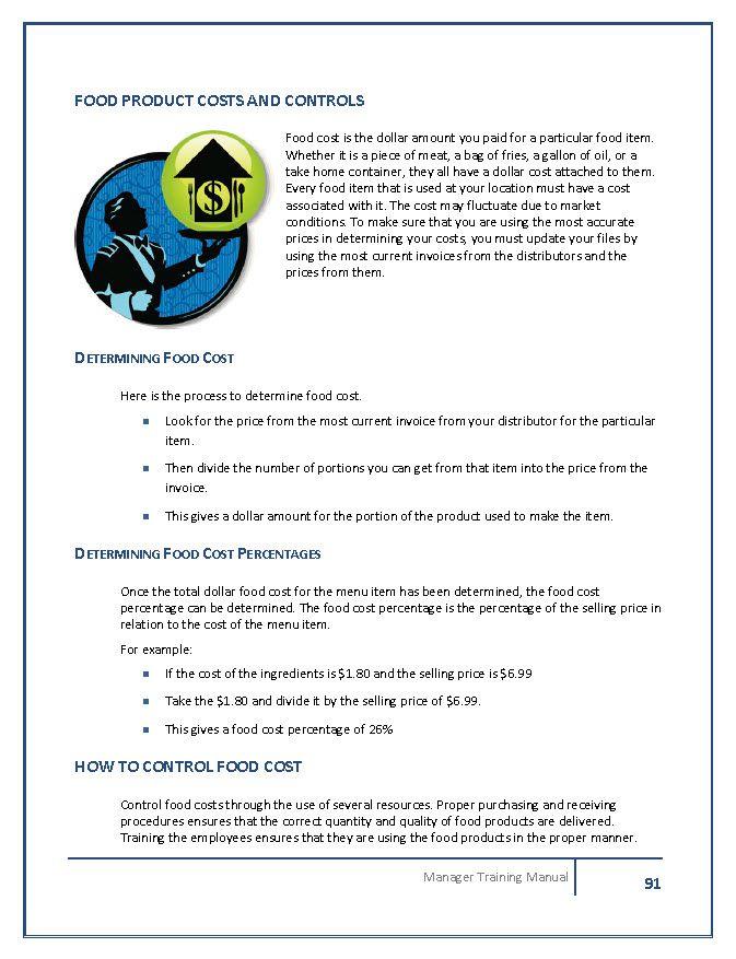 restaurant manager training manual template rh restaurantowner com Security Supervisor Training Manual Supervisor Training PowerPoint