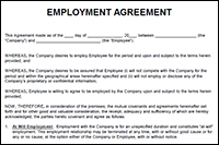 The Employment Agreement Template