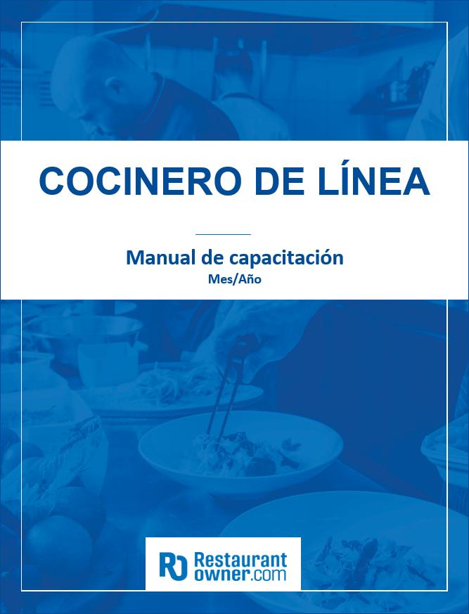 restaurant training manual templates spanish edition rh restaurantowner com user manual in spanish driver manual in spanish nj