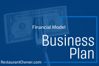 business plan financials model tableservice