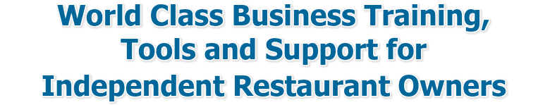 World Class Restaurant Business Tools